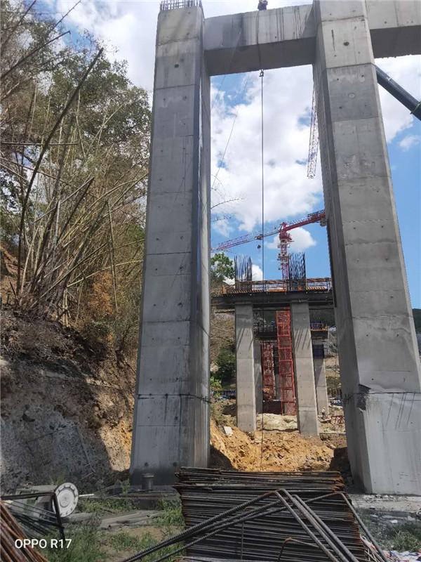 玉溪橋墩切割