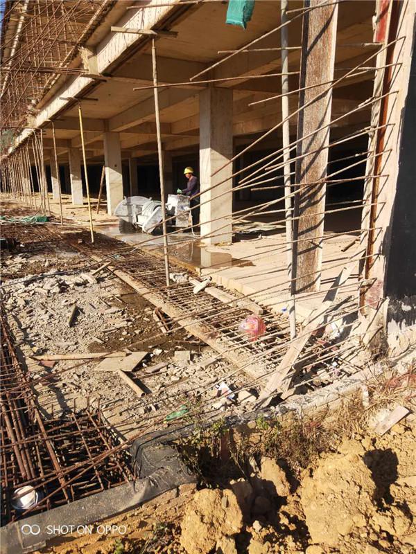 澄江地下室樓板切割